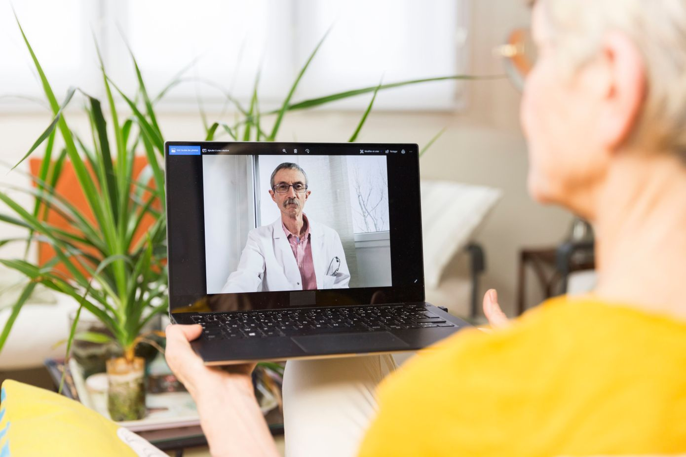Why telehealth can't significantly flatten the coronavirus curve—yet Eli Cahan@emcahan / 10:07 am PDT • April 4, 2020